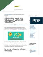 ¿Con Quien Habla Por Whatsapp_ MIRADOR WHATSAPP _ Whatsdog Whatsapp