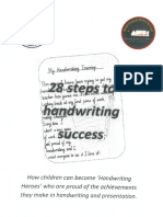 28 Steps to Handwriting Success