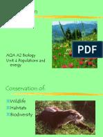 Edexcel A2 Conservation