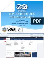 How To Join In SPE