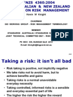 As-NZS 4360-2004 Risk Management