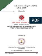 AQAR REPORT 2012-13 (1)