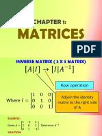 Inverse Matrix