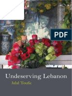 3510-Undeserving Lebanon - Unknown ISBN