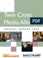 Twin Cities Media Alliance Annual OnlinePDF 2009