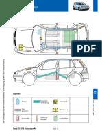 Carte Salvare VW Golf IV 1J 1997-2003 5-Usi