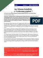 Verfassung Wahlen Hamburg