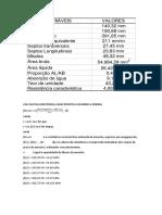 Cálculo Da Resistencia Caracteristica Segundo a Norma