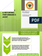 Audit Sektor Publik Pelaporan Audit Kinerja