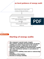 Energy Audits in Industry