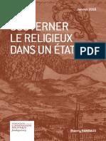 Thierry Rambaud - Gouverner le religieux dans un État laïc