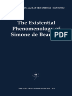 (Contributions to Phenomenology 43) Wendy O'Brien, Humber College (Auth.), Wendy O'Brien, Lester Embree (Eds.)-The Existential Phenomenology of Simone de Beauvoir-Springer Netherlands (2001) (1)