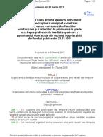 Regulamentul Cadru Pentru Ocuparea Unui Post Contractual Vacant2