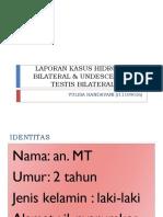 Laporan Kasus Hidrokel & Undescensus Testis