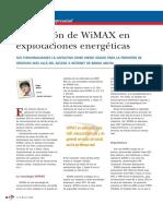 Wimax en Explotaciones Energeticas