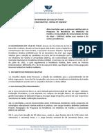 Edital Residencia MEDICINA 2018 (194-2017)
