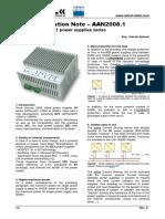 AAN 2008.1 - New Features of DZ1 Power Supplies Series (ENG)