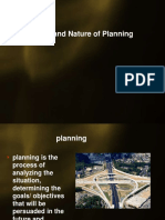 Scope of Planning