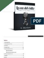 La Voz Del Éxito - E. Mavizca - 2da Edicion