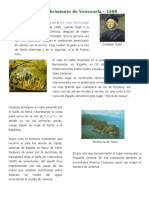 Descubrimiento, Conquista y Colonización de Venezuela