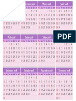 Imprimir Calendário 2018