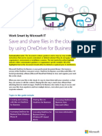 3642 Save and Share Files in the Cloud by Using OneDrive for Business