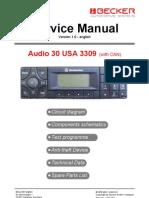 Audio 30 USA 3309Audio 30 USA 3309
