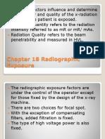 Radiographic Exposure