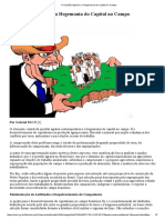 A Questão Agrária e a Hegemonia Do Capital No Campo - Grabiel M.C.F - PCB