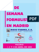 Jornada Formulista Madrid_2005
