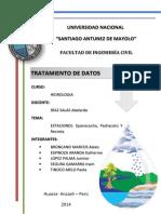 Hidrologia Tratamiento de Datos