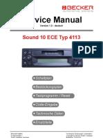 Sound 10 ECE Typ 4113