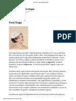 Vesi Yoga - Aprendiz de Astrologia