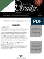 Cronograma Do Culto Da Virada (1)