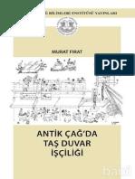 Antikçağda Taş Duvar İşçiliği - Murat Fırat