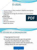 Estudio Legal, Ambiental y de Organizacion