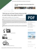 Triển Khai Dự Án Smart Factory Dùng Các..