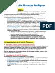 Révision de Finances Publiques