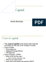 Session 7 Cost of Capital (1)