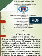 Ácido Clorhídrico (Trabajo de Exposicion) Ppt-1