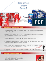Coke-Pepsi Rivalry SEC D GROUP1