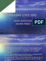 PRUEBAS ICFES 2005