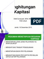 Unja Praktek Kapitasi 15 Desember 2015 Mhs