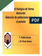 Control Biologico de Varroa