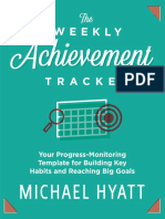 The Weekly Achievement Tracker