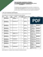 Convocatoria Para La Admisión Docente en Interinato Para Cursos de Nivelación Autofinanciados Gestión 2018