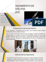 Lanzamiento de Satélites Presentacion