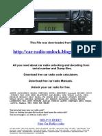 Spare Parts List Type3302_ETL Becker-car Radio Manuals