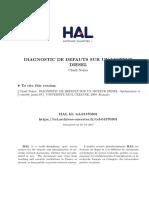 Diagnostique Des Defauts Sur Un Moteur Diesel