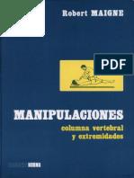 Manipulaciones Columna Vertebral -Robert Maigne-Incompleto